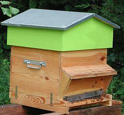 ruche nicollet sur la base d 39 une ruche voirnot standard mais moins haute. Black Bedroom Furniture Sets. Home Design Ideas